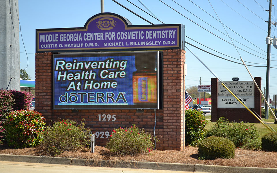 Dr. Kurtis Hays LED Sign Display