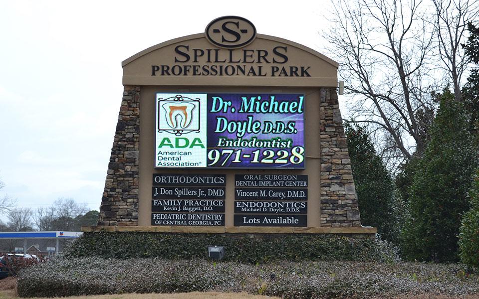 Dr. Don Spillers LED Sign Warner Robins